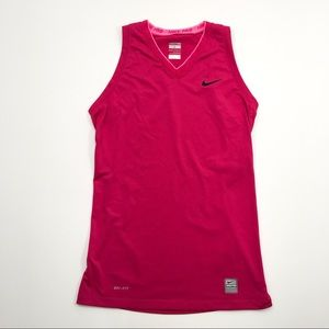 Nike Pro   Pink Tank Top